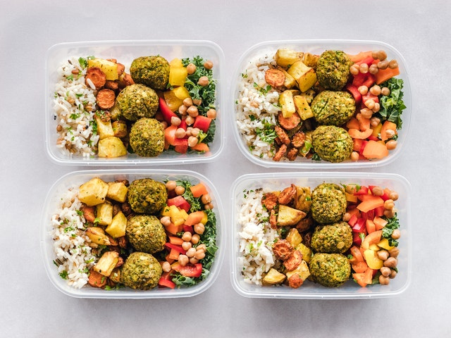 Gezonde vegetarische sportmaaltijden